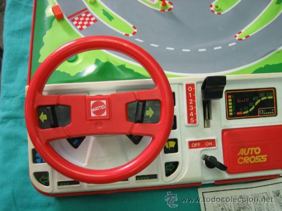 Juegos antiguos: Auto Cross de Mattel 1990. Falta arco de meta. Tiene los coches - Foto 10 - 32746923
