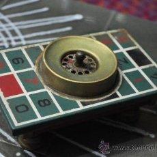 Juegos antiguos: RULETA DE METAL ANTIGUA, LE FALTA LA BOLA. Lote 34020085