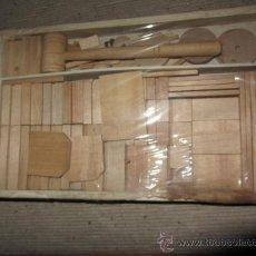 Juegos antiguos: ANTIGUO JUEGO DE CONSTRUCCION. Lote 34361199
