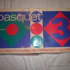 Juegos antiguos: JUEGO BASQUET 3 BALONCESTO DE PERMA. Lote 34682424