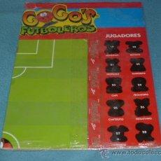 Juegos antiguos: TABLERO GOGOS FUTBOLEROS - COCA COLA - ( ÚLTIMO DISPONIBLE ). Lote 94342394