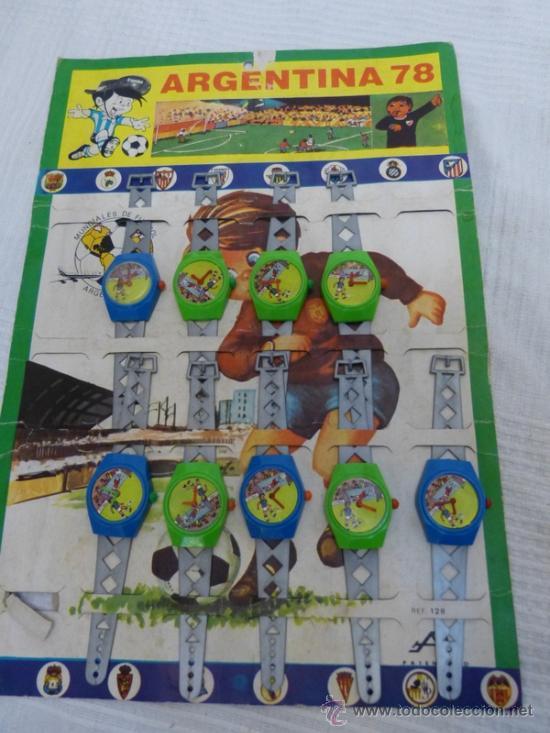RELOJES ARGENTINA 78 (Juguetes - Juegos - Otros)