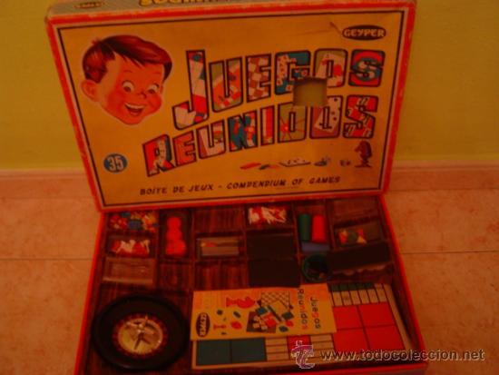 Caja Y Juegos Reunidos Geyper 35 Incompleto Comprar Juegos