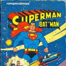 Juegos antiguos: JUEGO 0002 ROMPECABEZAS BATMAN SUPERMAN BORRAS REF. 2479 COMIC INC. . Lote 35477993