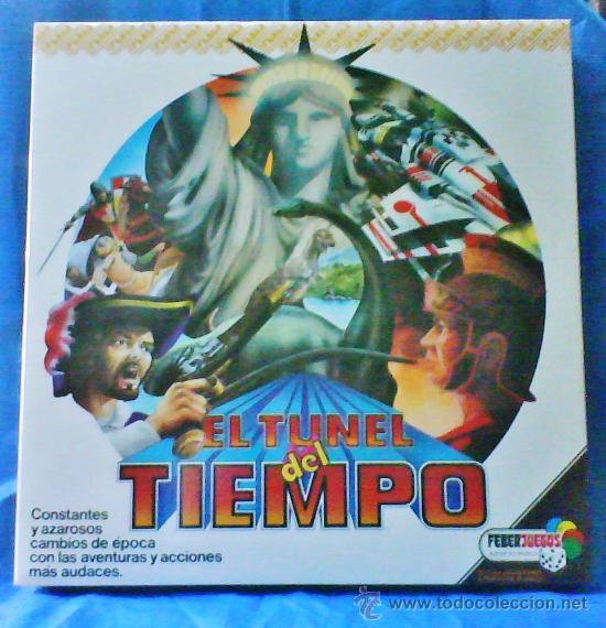 EL TUNEL DEL TIEMPO - COL.FEBERJUEGOS - REF.820 - FEBER - SIN ESTRENAR - VER FOTOS - AÑOS 70/80 - (Juguetes - Juegos - Otros)