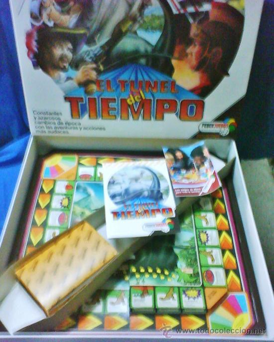 Juegos antiguos: el tunel del tiempo - col.feberjuegos - ref.820 - feber - sin estrenar - ver fotos - años 70/80 - - Foto 2 - 36020738