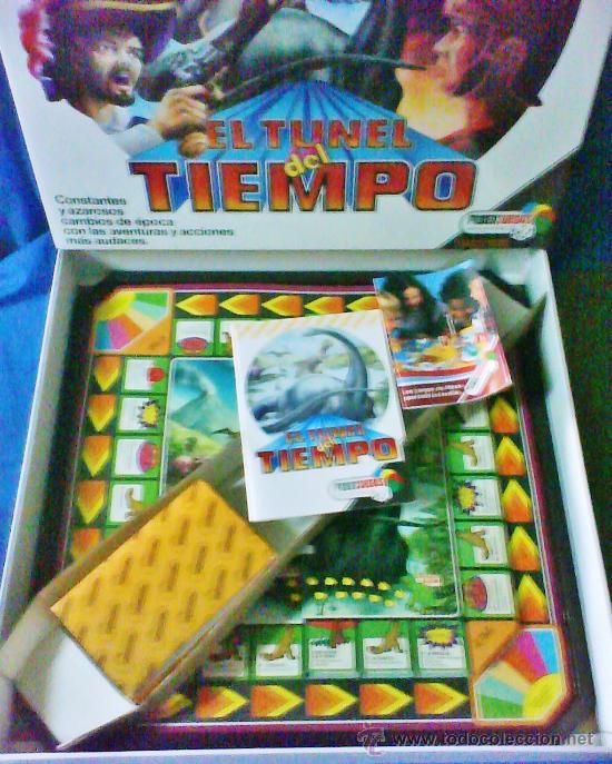 Juegos antiguos: el tunel del tiempo - col.feberjuegos - ref.820 - feber - sin estrenar - ver fotos - años 70/80 - - Foto 3 - 36020738