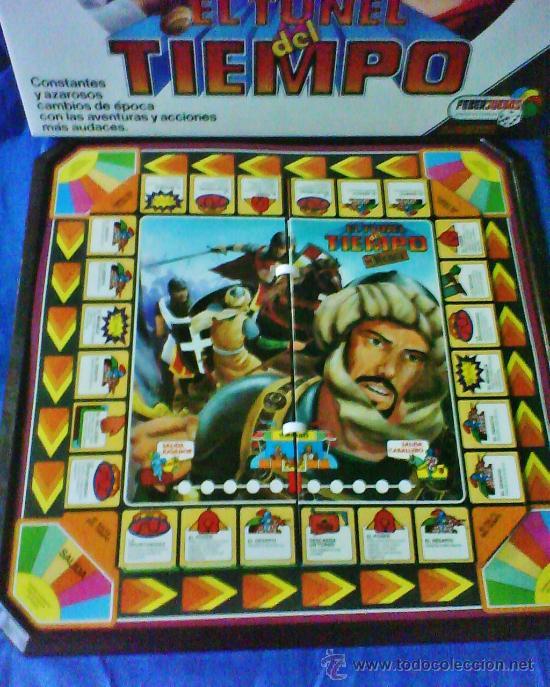 Juegos antiguos: el tunel del tiempo - col.feberjuegos - ref.820 - feber - sin estrenar - ver fotos - años 70/80 - - Foto 6 - 36020738