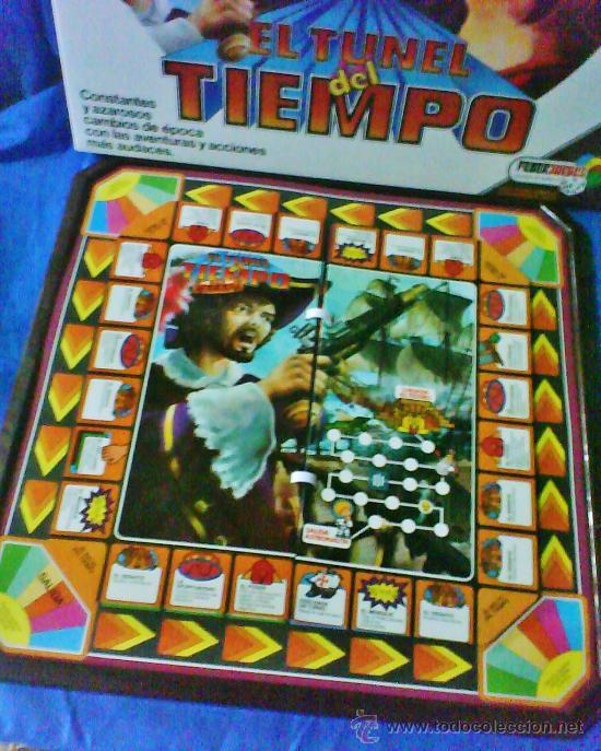 Juegos antiguos: el tunel del tiempo - col.feberjuegos - ref.820 - feber - sin estrenar - ver fotos - años 70/80 - - Foto 7 - 36020738