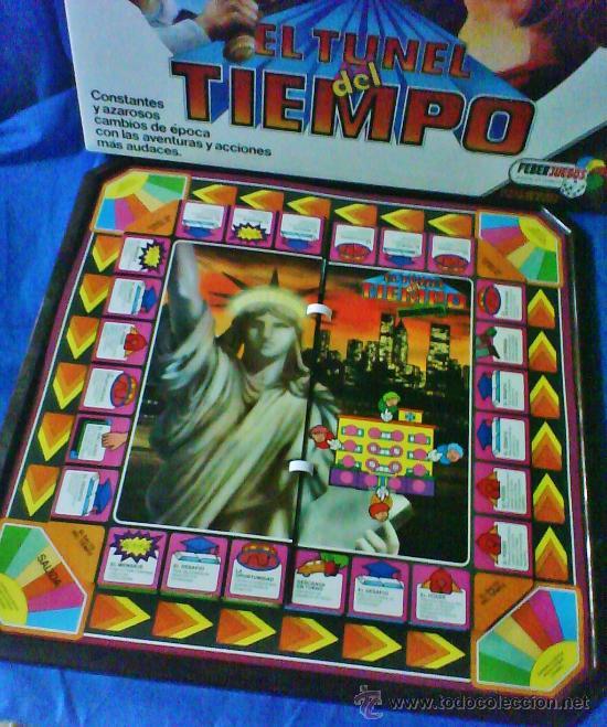 Juegos antiguos: el tunel del tiempo - col.feberjuegos - ref.820 - feber - sin estrenar - ver fotos - años 70/80 - - Foto 8 - 36020738