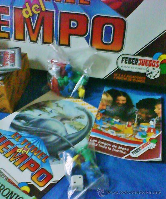 Juegos antiguos: el tunel del tiempo - col.feberjuegos - ref.820 - feber - sin estrenar - ver fotos - años 70/80 - - Foto 13 - 36020738