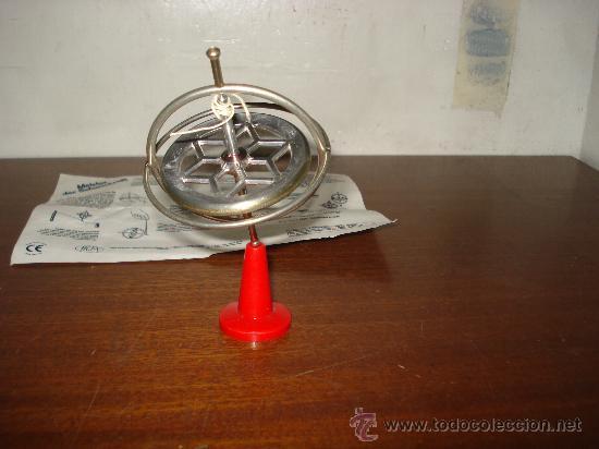Juegos antiguos: Completo Juego de GIROSCOPO Funcionando Perfectamente . - Foto 3 - 178869240
