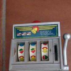 Juegos antiguos: MAQUINA TRAGAPERRAS -ROCKET IN MY ROLLS-. Lote 36802475