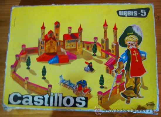 CASTILLO URBIS - 5 AÑOS 60 (Juguetes - Juegos - Otros)