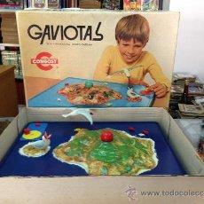 Juegos antiguos: JUEGO COMPLETO CON CAJA GAVIOTAS DE CONGOST FUNCIONA PERFECTAMENTE. Lote 36575857