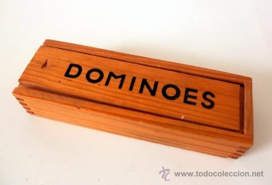 Juegos antiguos: DOMINO VINTAGE * DOMINOES FICHAS DE PLASTICO - Foto 2 - 36812281
