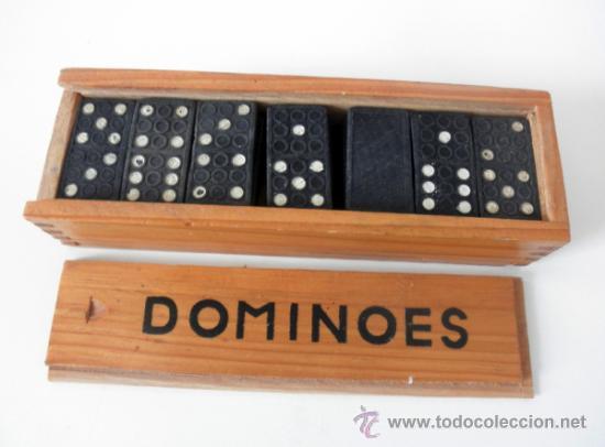 Juegos antiguos: DOMINO VINTAGE * DOMINOES FICHAS DE PLASTICO - Foto 3 - 36812281