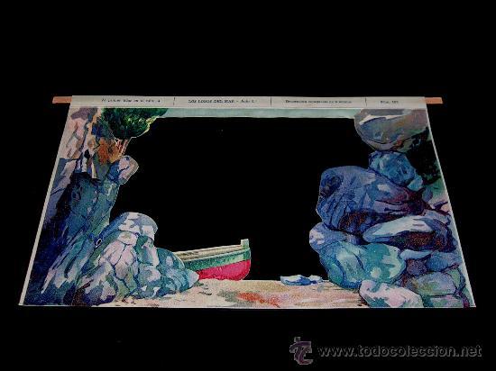 Juegos antiguos: Los Lobos del Mar. El Teatro de los Niños, Teatrín, Seix & Barral, Barcelona años 20-30. Excelente. - Foto 7 - 37177327