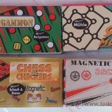 Juegos antiguos: LOTE 4 JUEGOS DE VIAJE AÑOS 70. Lote 37294845