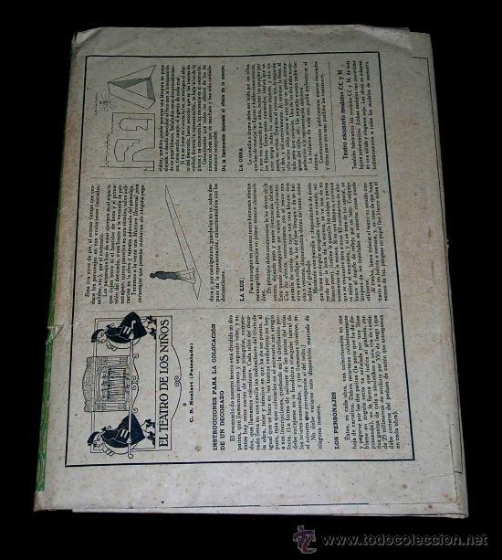 Juegos antiguos: El Alma de las Ruinas. El Teatro de los Niños, Teatrín, Seix & Barral, Barcelona años 20-30. - Foto 3 - 37296045