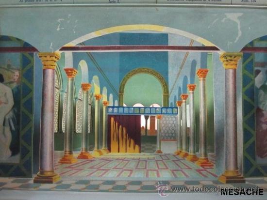 Juegos antiguos: EL TEATRO DE LOS NIÑOS ** Seix & Barral ** EL MERCADER DE VENECIA, 1915 ** 8 DECORADOS - Foto 2 - 43177311