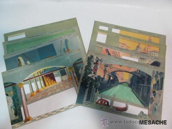 Juegos antiguos: EL TEATRO DE LOS NIÑOS ** Seix & Barral ** EL MERCADER DE VENECIA, 1915 ** 8 DECORADOS - Foto 3 - 43177311