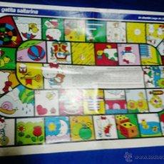 Juegos antiguos: JUEGO - LA GATITA SALTARINA - HOJA CENTRAL REVISTA LECTURAS - AÑOS 90 - RD3. Lote 39884545