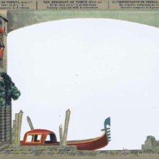 Juegos antiguos: EL TEATRO DE LOS NIÑOS - SEIX & BARRAL - EL MERCADER DE VENECIA - 8 ESCENARIOS . BARCELONA: SEIX BAR. Lote 40031950