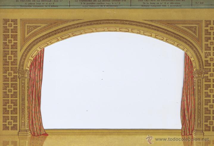 EL TEATRO DE LOS NIÑOS - SEIX & BARRAL - EL TRINFO DE LA BONDAD - 6 ESCENARIOS . BARCELONA: SEIX BAR (Juguetes - Juegos - Otros)