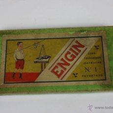 Juegos antiguos: JUEGO DE MESA MARCA 'ENGIN' - CONSTRUCCIONES METÁLICAS Nº1 - CAJA ORIGINAL Y CUADERNO - AÑOS 30. Lote 43801069
