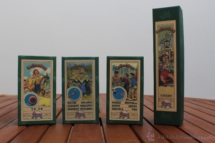 Lote de 4 juegos de cayro colecci n juguetes a comprar - Juguetes antiguos de madera ...