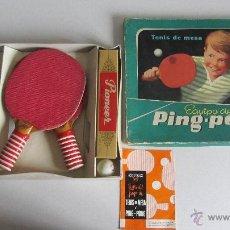Juegos antiguos: JUEGO PING-PONG O TENIS DE MESA. Lote 40807645