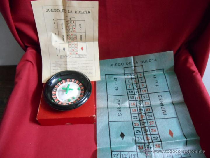 JUGUETE INFANTIL ANTIGUO DE GEYPER -RULETA- (Juguetes - Juegos - Otros)