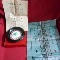 Juegos antiguos: JUGUETE INFANTIL ANTIGUO DE GEYPER -RULETA-. Lote 41514764