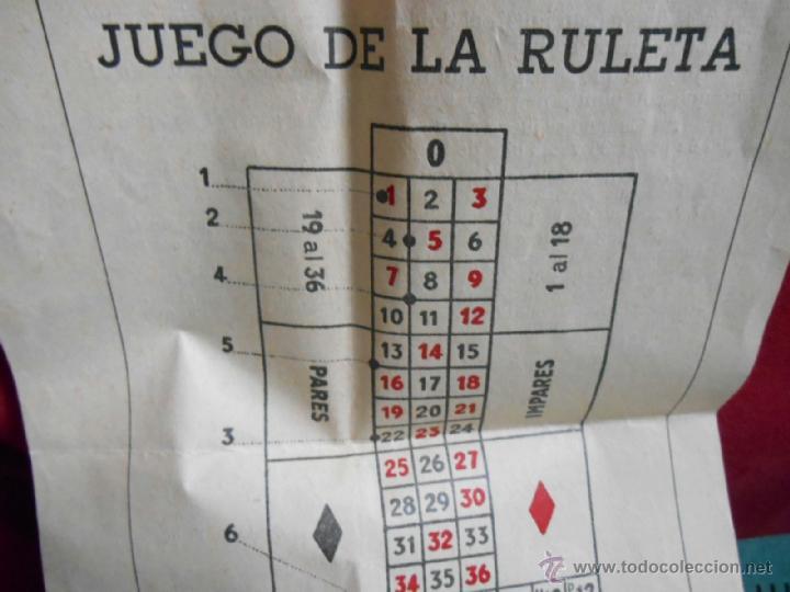 Juegos antiguos: JUGUETE INFANTIL ANTIGUO DE GEYPER -RULETA- - Foto 4 - 41514764