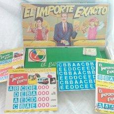 Juegos antiguos: ANTIGUO VINTAGE JUEGO EL PRECIO JUSTO AÑOS 70 CONCURSO TELIVISIVO JOAQUIN PRAT. Lote 41873319