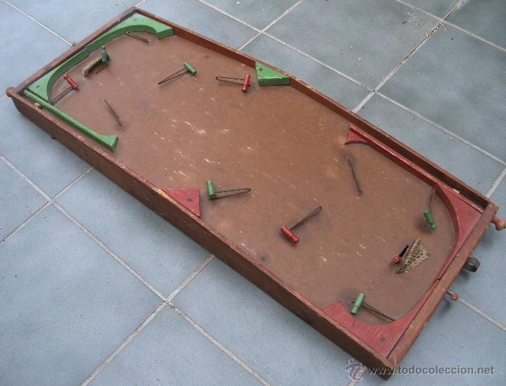 Antiguo Juego De Hockey Tipo Futbolin Madera Comprar Juegos