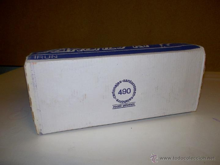 Juegos antiguos: Patines antiguos patinete patin vintage sancheski de hierro,nuevos , con su caja, correas y su llave - Foto 5 - 42680567
