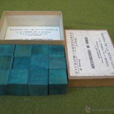 Juegos antiguos: MEDIDA DE LA INTELIGENCIA - CUBOS DE CONSTRUCCION.. Lote 42768926
