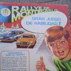 Juegos antiguos: RALLYE MONTECARLO JUEGO DE HABILIDAD. Lote 43164131