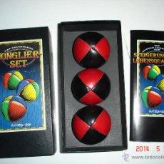 Juegos antiguos: JUEGO DE TRES BOLAS. JUEGOS MALABARES.. Lote 43830427