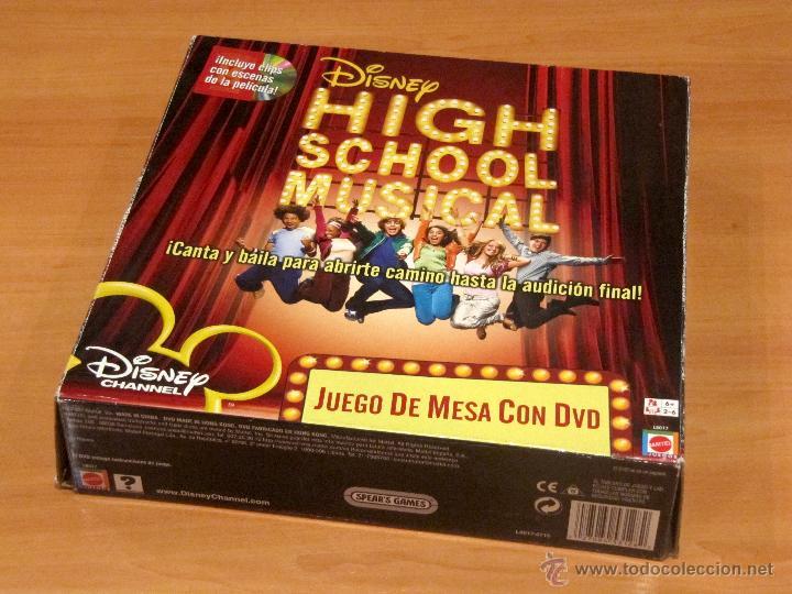High School Musical Juego De Mesa Con Dvd Mat Comprar Juegos