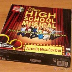Juegos antiguos: HIGH SCHOOL MUSICAL: JUEGO DE MESA CON DVD. MATTEL. Lote 43973950