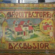 Juegos antiguos: ARQUITECTURA EXCELSIOR AÑOS 20. Lote 45701680