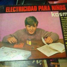 Juegos antiguos: ELECTRICIDAD PARA NIÑOS KOSMOS. Lote 46339780