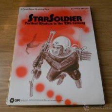 Juegos antiguos: JUEGO WARGAME STARSOLDIER - SPI 1977 - COMPLETO - SIN DESTROQUELAR. Lote 46402474