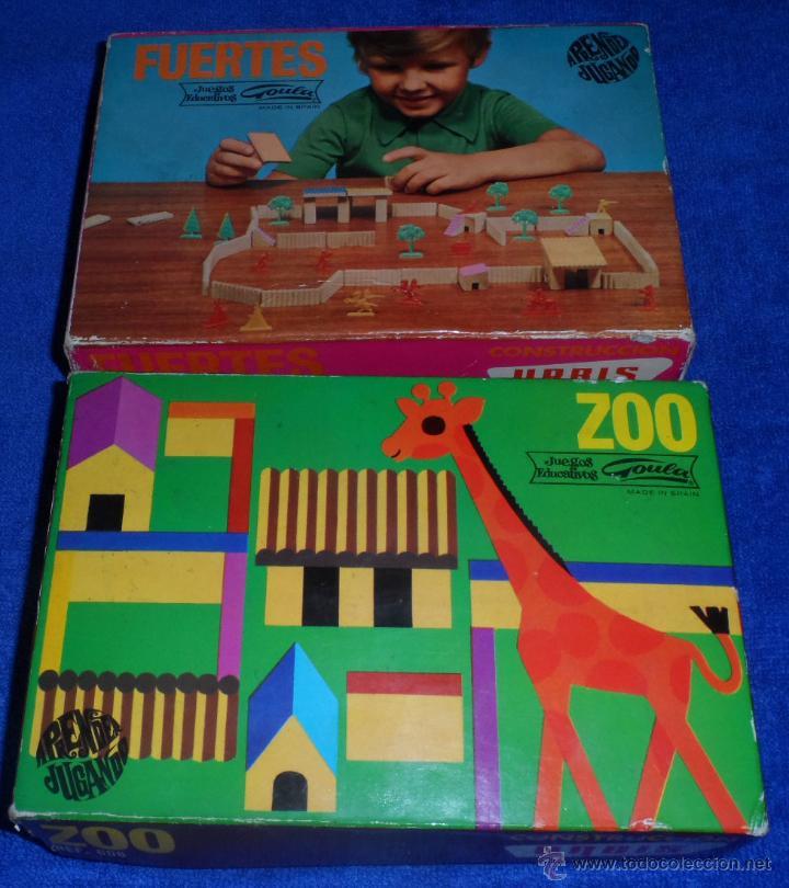 ZOO - FUERTES - CONSTRUCCIONES GOULA - URBIS ¡AÑOS 60! (Juguetes - Juegos - Otros)