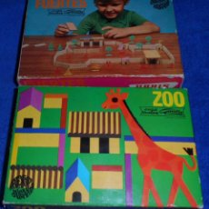 Juegos antiguos: ZOO - FUERTES - CONSTRUCCIONES GOULA - URBIS ¡AÑOS 60!. Lote 46456457