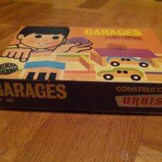 Juegos antiguos: GARAGES JUEGO DE CONSTRUCCION DE URBIS REF 603. Lote 46589439