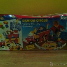 Juegos antiguos: CAMION DE CIRCO INFANTIL CON ACCESORIOS.77 CM.. Lote 46592896